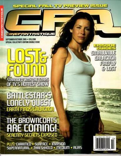 CINEFANTASTIQUE SEPTEMBER 2005 - LOST EVANGELINE LILY COVER - CHARMED - FIREFLY