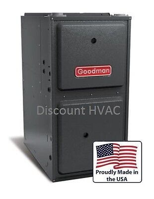 80,000 BTU Goodman Gas Furnace 96% GMES960803BN Upflow or Ho