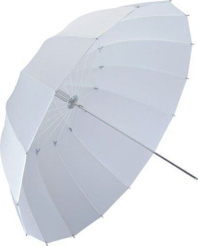 "63"" Photo Studio Translucent Shoot Through White Umbrella 16 Panels Fiberglass"