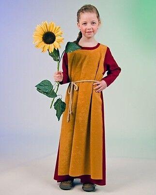 Mädchen Mittelalter Kostüm (Kostüm Wikinger-Mädchen Wikingerkostüm Mittelalter Maria Kinder Fasching Karneva)