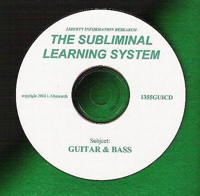 Play Bass Guitar? Need Speed &technique? Get Subliminal