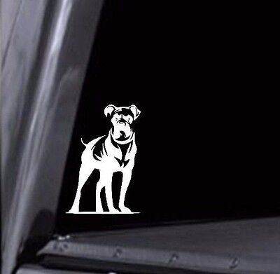 2- Boxer Stickers Boxer Dog Breed Vinyl Decals for Car Window, laptop, wall, - Breed Wall