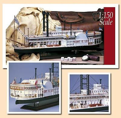 "Amati Robert E Lee 24"" Wooden Riverboat Model Kit Historic Series 1870"