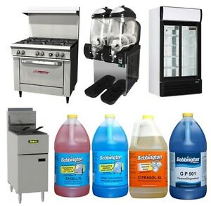 New & Reconditioned Food Service Equipment & Cleaning Solutions