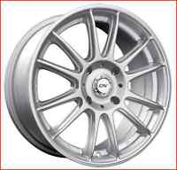 Roues (Mags) Radial couleur argent