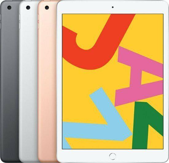 "Apple 10.2"" iPad 7th Gen 128GB WiFi 2019 Model GOLD New Seal"