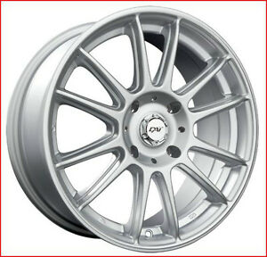 Roues (Mags-Jantes) 4 saisons Radial Argent 15 po. 5-114.3