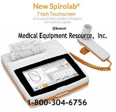 New Mir Spirolab Spirometer Full Features Fvc Prepost Testing.