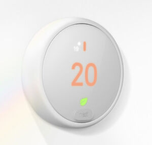 Brand New White Nest E Wi-Fi Smart Thermostat