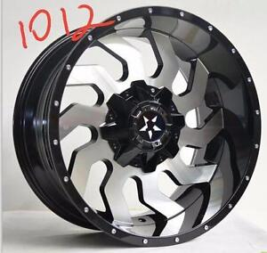 BRAND NEW 22X12 RIMS $1590 FOR THE FULL SET!!!- DOGDGE FORD CHEVY GMC!!