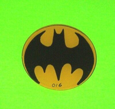 BATMAN Pinball Machine Promo Plastic With BAT LOGO DATA EAST 1991 Collectible