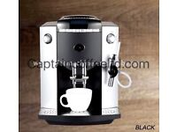 BEAN TO CUP COFFEE MACHINE FULLY AUTOMATIC COMMERCIAL DOMESTIC FRESHLY GROUND COFFEE ONE TUOCH