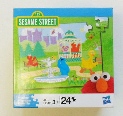 Sesame Street Puzzle  24 Pieces # 4, by Hasbro