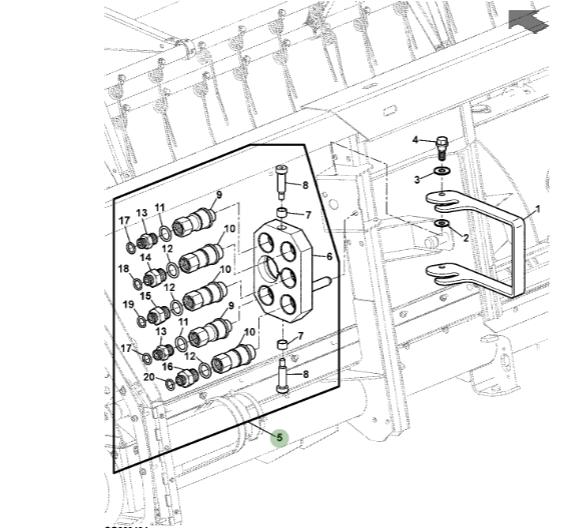 Used Kubota L245dt Fuel Parts