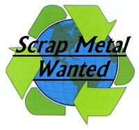 FREE PICKUP OF SCRAP METAL AND E WASTE!!