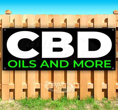 Cbd Oils And More Advertising Vinyl Banner Flag Sign Many Sizes