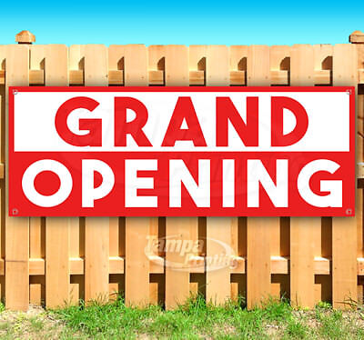 Grand Opening Business Advertising Vinyl Banner Flag Sign Many Sizes Usa