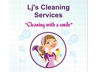 Lj's Cleaning Services provides domestic and commercial cleaning, deep cleans and end of tenancy.