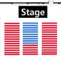 AMAZING FRONT ROW CENTRE (ROW 1) TWEEN STARS LIVE TICKETS !!!