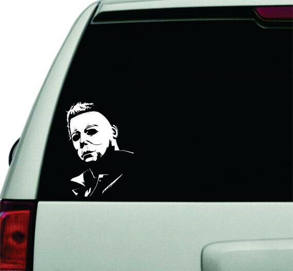 Home Decoration - Michael Myers Permanent Waterproof Decal