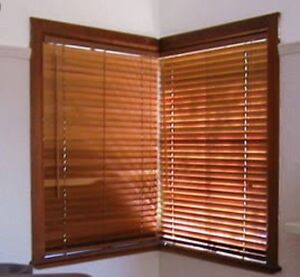 6 x 45mm timber Venetian blinds Taylors Hill Melton Area Preview