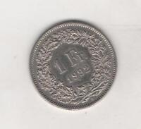 Moneta Svizzera / Switzerland / Helvetia 1 Fr. 1992 Circolata -  - ebay.it