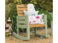 Garden Rocking Chair NEW BOXED RRP £160 - Florenity Verdi Rocking Chair