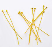 Gold Plated Ball Head Pins