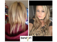 Bondgirl Hair Extensions | Mobile Service | Solihull Birmingham Coventry Walsall Wolverhampton