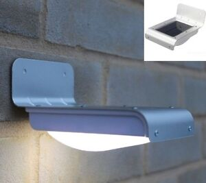 Motion Activated Outdoor solar lamp, limited quantity