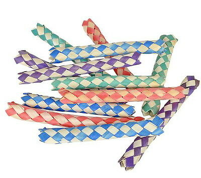 50 BAMBOO CHINESE FINGER TRAPS, BIRTHDAY PARTY FAVORS, HOT TOY, FREE SHIPPING