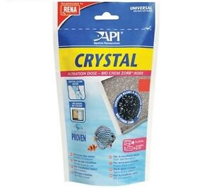 API CRYSTAL - SIZE 6 - BIO CHEM ZORB FILTERATION MEDIA FOR CRYSTAL CLEAR WATER
