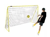 KICKMASTER 6 FT PREMIER FOOTBALL GOAL POSTS WITH NETS GARDEN PARK SCHOOL *BNIB*