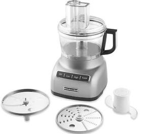 Kitchenaid-KFP0711cu-7-Cup-Food-Processor-KFP0711-Beautiful-Countour-Silver-New