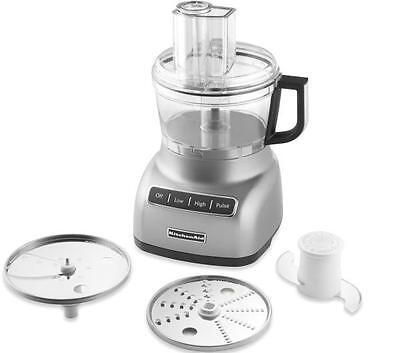 KitchenAid R-KFP0711cu 7 Cup Food Processor R-KFP0711 Gorgeous Countour Silver