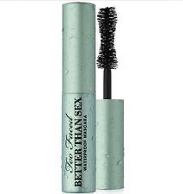 Too Faced WATERPROOF Better Than Sex Mascara ~ Travel / Deluxe Size (0.17 oz.)