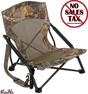 Browning Outdoor Folding Chair Turkey Deer Hunting Camping Camouflage Stand Sit
