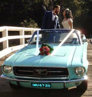 "Mustangs Car Hire ""Convertibles""- Wedding, Formal, Special Events"