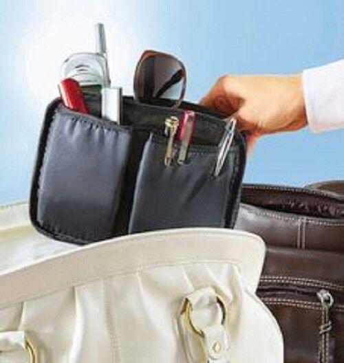 Wechseltasche für Handtasche schwarz Handtasche Organizer Orga Einsatz