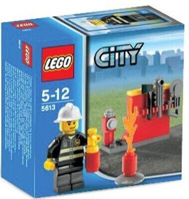 LEGO 5613 FIGURA DE BOMBERO CON ACCESORIOS (DESCATALOGADO. AÑO 2008). NUEVO.