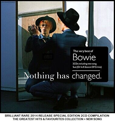 David Bowie - The Ultimate Essential Greatest Hits Collection RARE Rock Pop 2CD