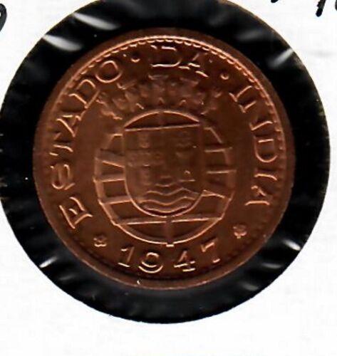 Portuguese India 1 Tanga 1947 BU