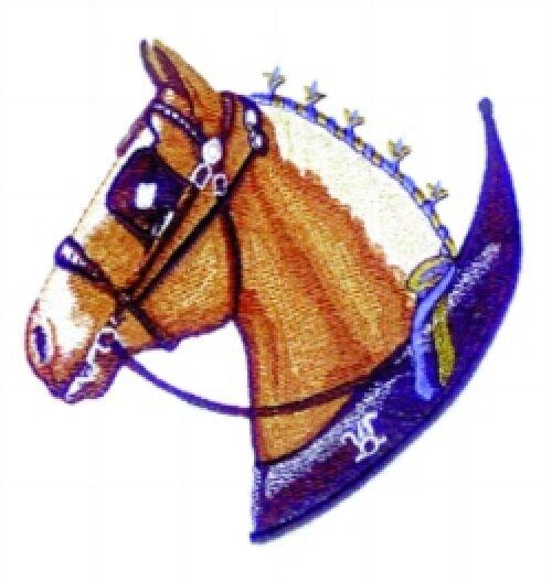 Embroidered Fleece Jacket - Belgian Horse BT3727 Sizes S - XXL