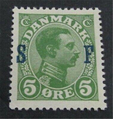 nystamps Denmark Stamp # M1 Mint OG NH $43   L23y234