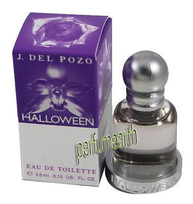 HALLOWEEN MINI 0.15 OZ EDT SPLASH FOR WOMEN & NEW IN A BOX BY J. DEL - Halloween In A Box