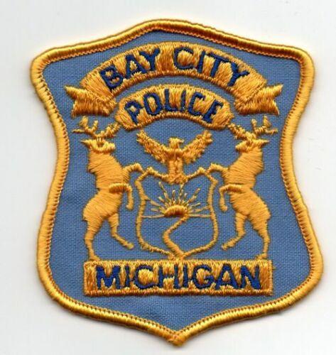 MICHIGAN MI BAY CITY POLICE NICE PATCH SHERIFF