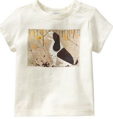 Charley Harper Cotton T Shirt Hound Dog Size 5T Charles Nature Art MC Modern
