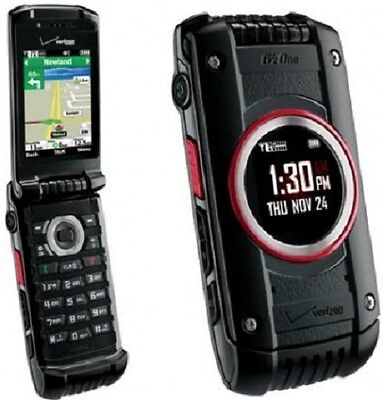 New Casio G'zOne Ravine 2 C781 - Black (Verizon) Cellular Phone