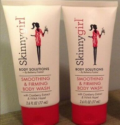 2 SkinnyGirl Smoothing & Firming Body WASH Cranberry Extract Witch Hazel 2.6 covid 19 (Firming Body Wash coronavirus)