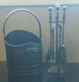 Genuine coal set, ideal for winter